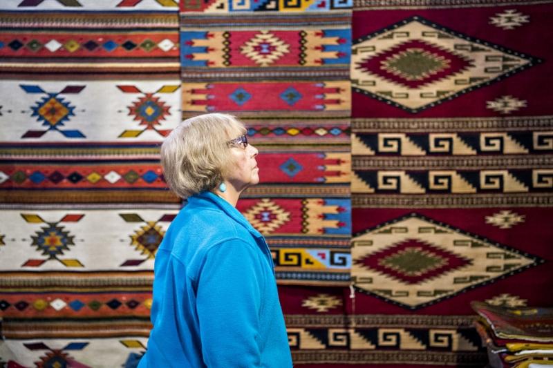 Mel Mendez's beautiful rugs